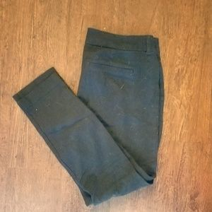 Navy Ankle Length Pant